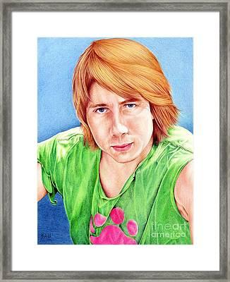 Dan Framed Print by Sheryl Unwin