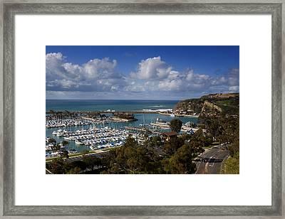 Dana Point Harbor California Framed Print
