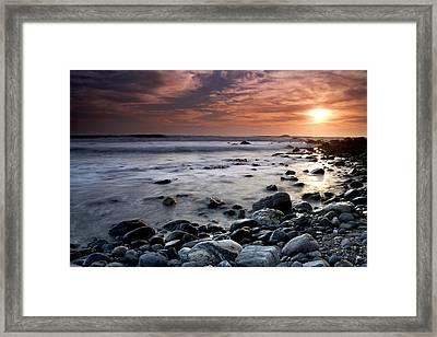 Dana Point Shoreline Framed Print by Eric Foltz