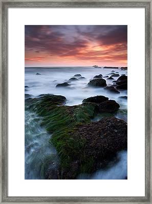 Dana Point Sunset Framed Print by Eric Foltz