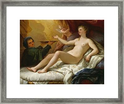 Danae Framed Print by Paolo di Matteis