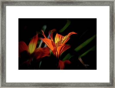 Dana's Early Dream Framed Print