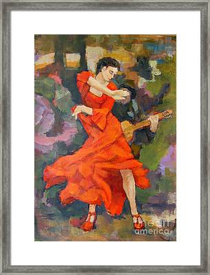 Dance 2 Framed Print by Johannes Strieder