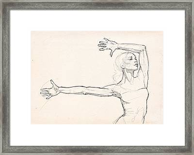 Dance Anatomy Framed Print