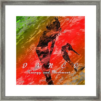 Dance Framed Print by Anthony Caruso