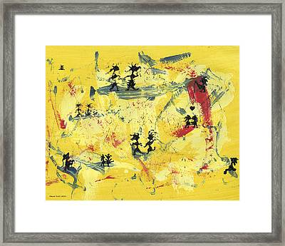 Dance Art Creation 1d9 Framed Print