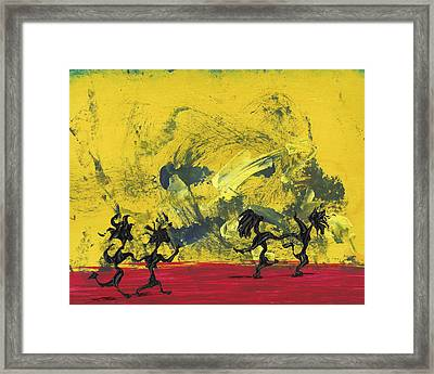 Dance Art Dancing Couple 22 Framed Print