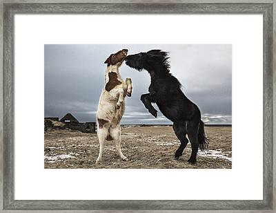 Dance Framed Print by Bragi Ingibergsson -