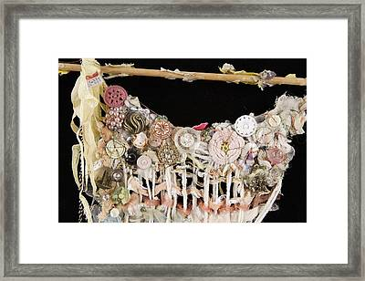 Dance Card Framed Print by Susie DeZarn