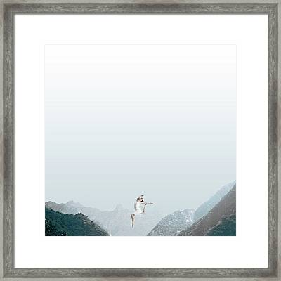 Dance Framed Print by Caterina Theoharidou