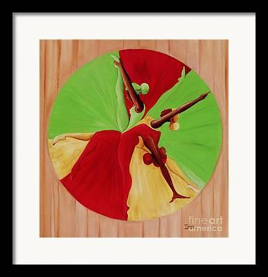 Cartwheel Framed Prints