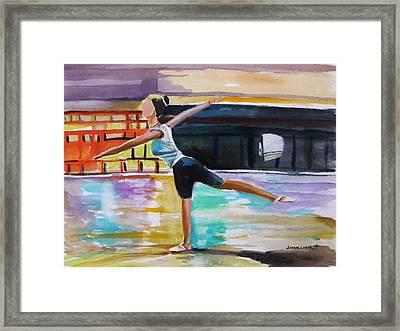 Dance Class Framed Print by John Williams