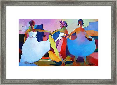 Dance Fest Framed Print