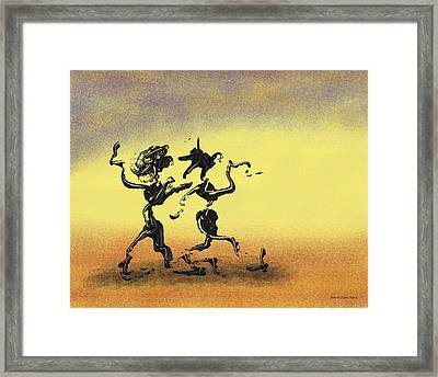 Dance I Framed Print