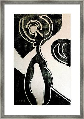 Dance II Framed Print by Dan Earle
