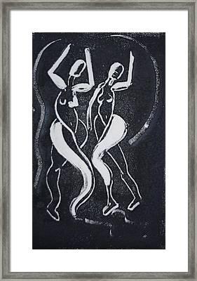 Dance IIi Framed Print by Dan Earle
