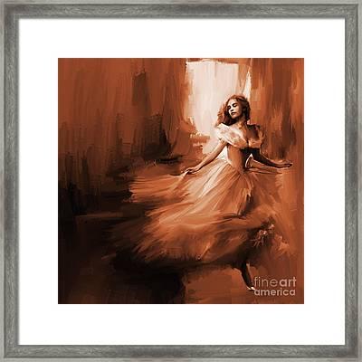 Dance In A Dream 01 Framed Print