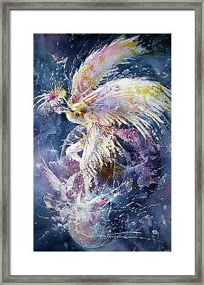 Dance In Flight Framed Print