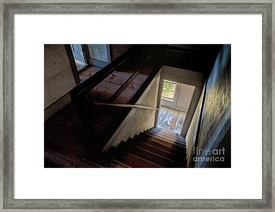 Dance In The Stairway Framed Print