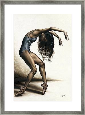Dance Intensity Framed Print