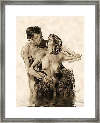 Dance Framed Print by Kurt Van Wagner
