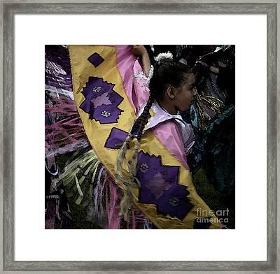 Dance Framed Print by Linda Shafer