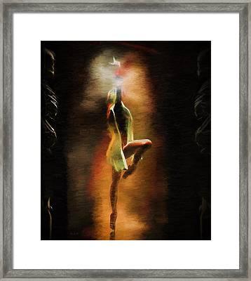 Dance Macabre Framed Print