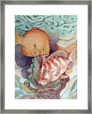 Dance Macabre Framed Print by Liduine Bekman
