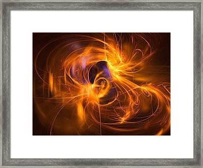Dance Of Light Framed Print by Andreas Thust