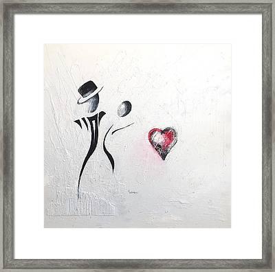 Dance Of Lovers Framed Print by Germaine Fine Art