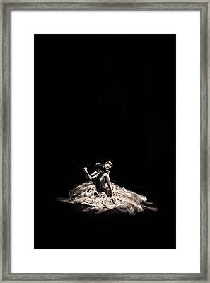 Dance Of Motion Framed Print