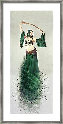 Dance Of The Belly Framed Print by Nichola Denny