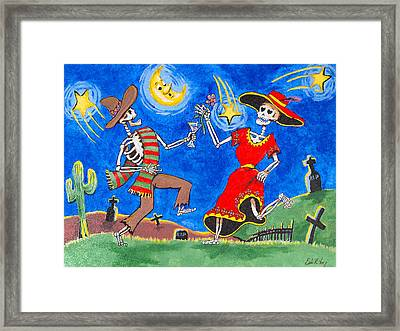 Dance Of The Dead Framed Print