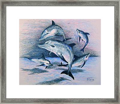 Dance Of The Deep Framed Print