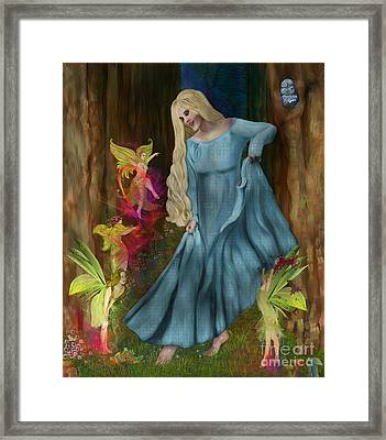 Dance Of The Fairies Framed Print by Sydne Archambault