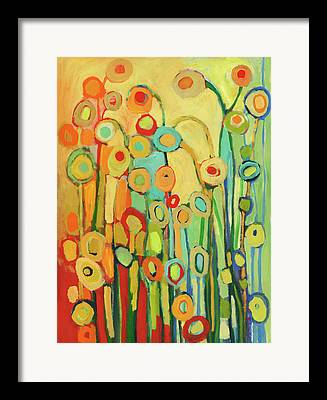 Pods Paintings Framed Prints