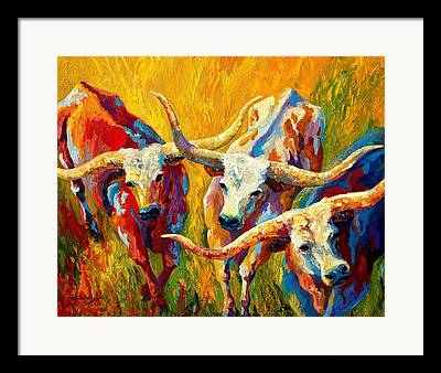Cows. Country Framed Prints