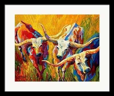 Cow Framed Prints