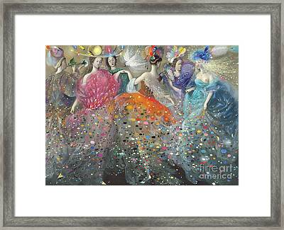 Dance Of The Muses Framed Print