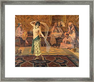 Dance Of The Seven Veils Framed Print