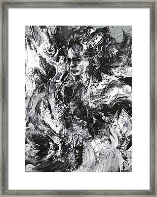 Dance Of The Shaman Framed Print