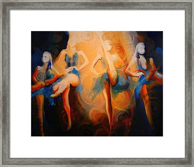 Dance Of The Sidheog Framed Print