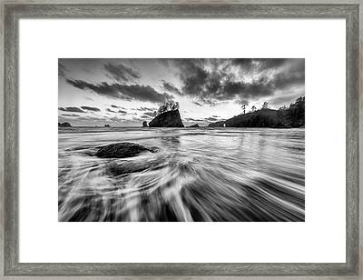 Framed Print featuring the photograph Dance Of The Tides by Mike Lang