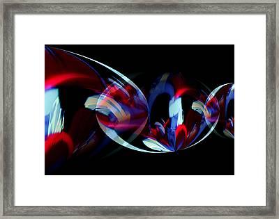 Dance Party Framed Print by Karen Scovill