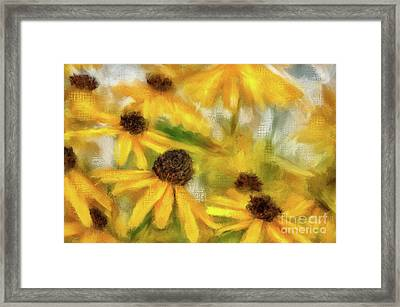 Dance Party Framed Print by Lois Bryan