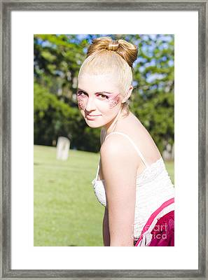 Dance Performer Framed Print by Jorgo Photography - Wall Art Gallery