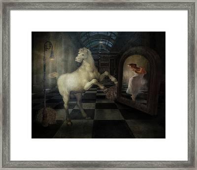 Dance Pony Dance Framed Print