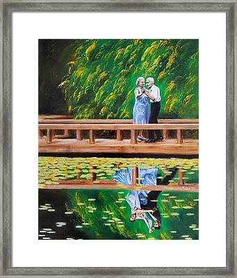 Dance Reflection Framed Print