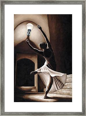 Dance Seclusion Framed Print by Richard Young