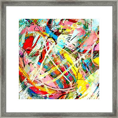Dance Framed Print by Stacey Chiew